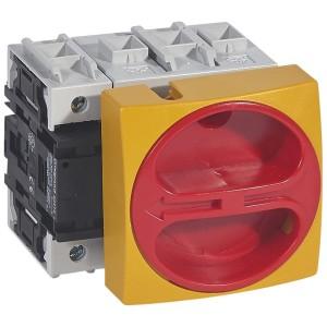 Interrupteur-sectionneur rotatif complet saillie avec commande rompue cadenassable - tétrapolaire neutre à gauche - 80A LEGRAND