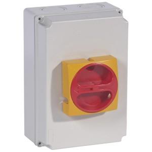 Interrupteur-sectionneur rotatif complet de proximité - tripolaire - 80A LEGRAND