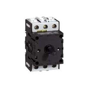 Bloc tripolaire nu pour interrupteur-sectionneur rotatif composable - 25A LEGRAND
