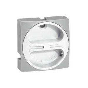 Manette cadenassable IP40 pour interrupteur-sectionneur rotatif composable - 20A à 63A - gris LEGRAND