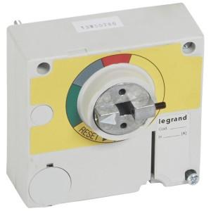 Commande rotative d'urgence déportée sur porte IP55 pour DPX³630 - rouge et jaune LEGRAND