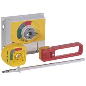 Commande rotative d'urgence déportée sur porte IP55 pour DPX³1600 - rouge et jaune LEGRAND