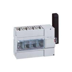 Interrupteur-sectionneur DPX-IS250 à déclenchement avec commande latérale droite - 4P - 250A LEGRAND
