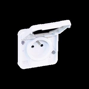 Mécanisme de prise 2P+T 16 A - Blanc EUR'OHM