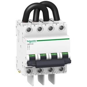 Disjoncteur photovoltaïque C60PV-DC 800VDC 10A 2P SCHNEIDER