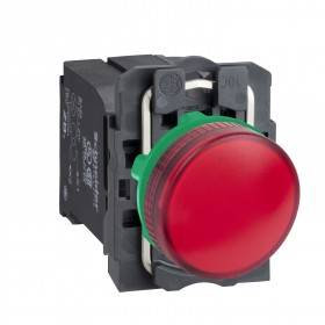 Voyant lumineux BA9s - Ø22 - rouge - 230V - vis étrier SCHNEIDER