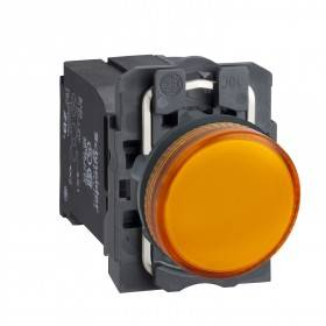 Voyant lumineux BA9s - Ø22 - orange - 230V - vis étrier SCHNEIDER