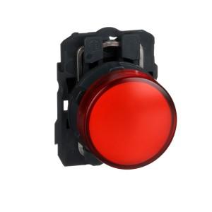 Voyant lumineux LED - Ø22 - rouge - 120V - vis étrier SCHNEIDER