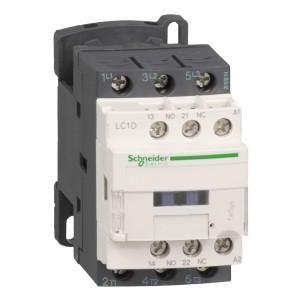 Contacteur - 3P - AC-3 440V - 18A - bobine 48Vca -TeSys - LC1D18E7 SCHNEIDER