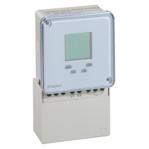 Inter horaire programmable digital 72x72mm à programme journalier et hebdomadaire 230V~ - 1 sortie LEGRAND