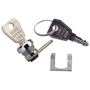 Serrure à clé n° 850 pour porte coffrets 8 à 9 modules LEGRAND