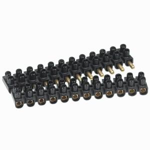 Barrette de connexion Suprem à broches avec capacité assignée 10mm² - noir LEGRAND
