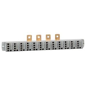 Répartiteur de rangée Lexiclic 3P+2N avec cordon connecteur longueur 120mm LEGRAND