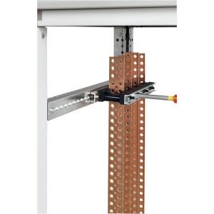 Support isolant fixe 1 ou 2 barres par pôle pour barres cuivre plates en position alignée jusqu'à 1600A LEGRAND
