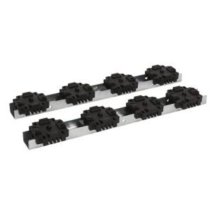 Support isolant 1 à 4 barres par pôle pour barres en position alignée jusqu'à 4000A LEGRAND