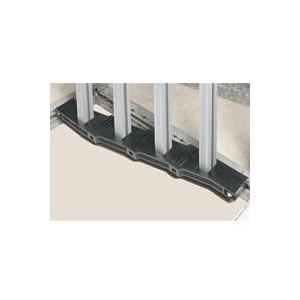 Support isolant VX³ entraxe 75mm pour barre aluminium en C alignée en armoire profondeur 725mm ou 475mm châssis partiel LEGRAND