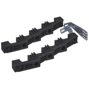 Support isolant VX³ entraxe 75mm pour barre aluminium en C décalée en gaine à câbles profondeur 725mm et 475mm LEGRAND