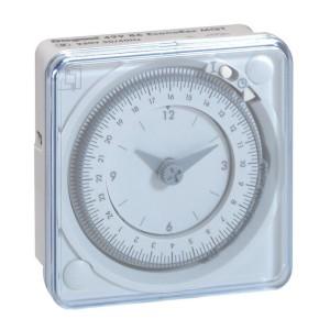 Inter horaire programmable analogique 72x72mm à programme journalier - connexion par languette LEGRAND