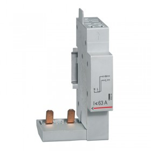 Module de raccordement par peigne pour DX³, DX³-ID et DX³-IS - à borne automatique - 2P jusqu'à 63A - 1 module LEGRAND