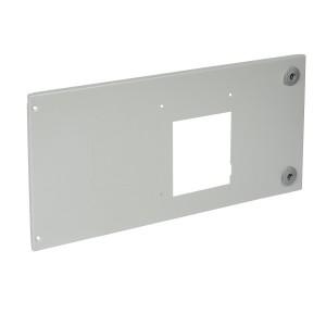 Plastron métal pour 1 DPX250 débrochable avec commande motorisée en position horizontale dans XL³4000 LEGRAND