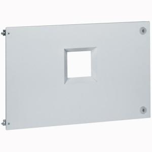 Plastron métal pour 1 DPX³1600 débrochable en position horizontale dans XL³4000 - hauteur 400mm LEGRAND