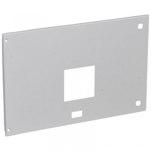 Plastron métal pour 1 DPX³1600 débrochable avec commande en position horizontale dans XL³4000 - hauteur 400mm LEGRAND