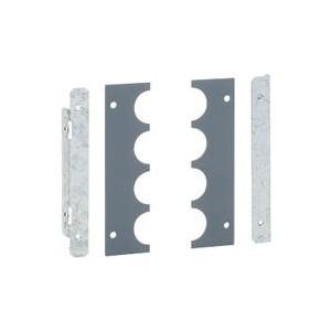 Cloison latérale à embouts pour unités fonctionnelles - haut. 400mm pour formes XL³ LEGRAND