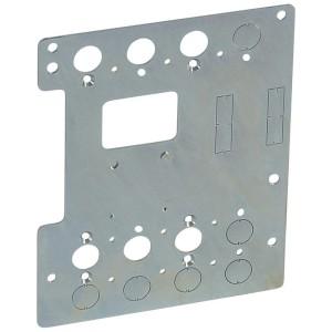 Platine de montage pour 1 DPX³250 fixe en inverseur de sources en position verticale dans XL³4000 LEGRAND