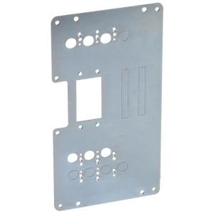 Platine de montage pour 1 DPX³250 extractible en inverseur de sources en position verticale dans XL³4000 LEGRAND