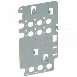 Platine de montage pour 1 DPX³160 fixe en position verticale dans XL³4000 LEGRAND