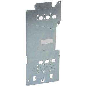 Platine de montage pour 1 DPX³160 extractible en position verticale dans XL³4000 LEGRAND