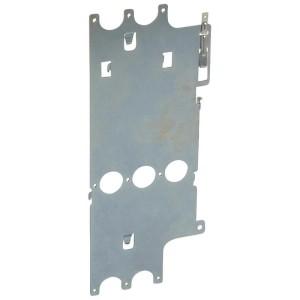 Platine de montage pour DPX³630 fixe avec différentiel en position verticale dans XL³4000 LEGRAND