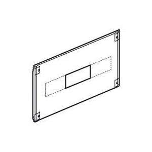 Plastron métal 1/4 tour pour Vistop 160A dans XL³4000 ou XL³800 - hauteur 200mm - 24 modules LEGRAND