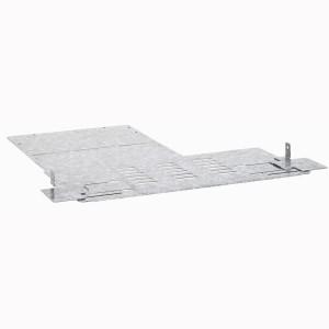 Cloisonnement cellule sans jeu de barres horizontal pour fermeture dernier caisson pour formes XL³ LEGRAND