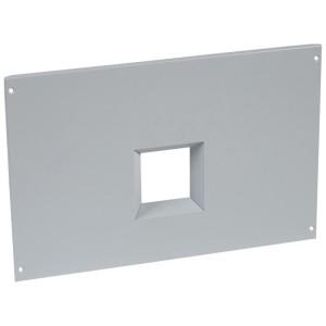 Plastron métal pour inverseur de sources à vis pour 2 DPX³1600 fixes dans XL³4000 - haut. 800mm LEGRAND