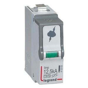 Cassette de remplacement pour parafoudres type T1 + type T2 Iimp 12,5kA LEGRAND