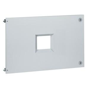 Plastron métal pour 1 DPX³1600 débrochable en position verticale dans XL³4000 - haut. 600mm LEGRAND