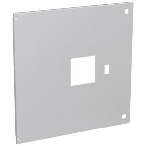 Plastron métal pour 1 DPX³1600 débrochable avec commande en position verticale dans XL³4000 - haut. 600mm LEGRAND