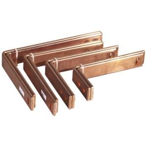 Barres cuivre pliées pour raccordement aval DPX³1600 fixe prises arrière sur jeu de barres alu dans XL³4000 725mm LEGRAND