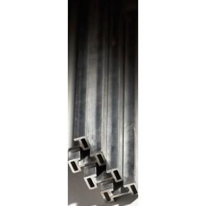 Barre aluminium cuivré étamé en C 400A répartition VX³ hauteur 1600mm LEGRAND