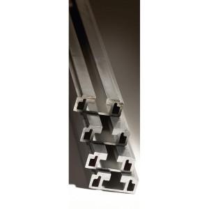Barre aluminium cuivré étamé en C 800A répartition VX³ hauteur 1600mm LEGRAND
