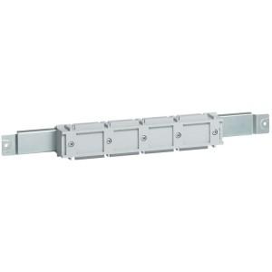 Support isolant pour barre aluminium en C 800A répartition VX³ en fond d'armoire XL³4000 ou XL³800 LEGRAND