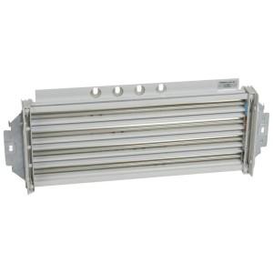 Répartiteur de rangée 250A HX³ avec connexion directe sur jeu de barres 250A ou 400A VX³ en fond d'armoire - 24 modules LEGRAND