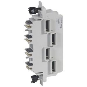 Module d'alimentation latérale pour répartiteur 250A ou 400A répartition HX³ LEGRAND