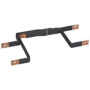 Barres cuivres rigides pour raccordement répartiteur sur jeu de barres 1600A VX³ latéral gaine à câbles 475mm LEGRAND