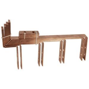 Kit de raccordement sur jeu de barres horizontal VX³IS pour jeu de barres cuivre 4000A In 1250A entraxe 125mm LEGRAND