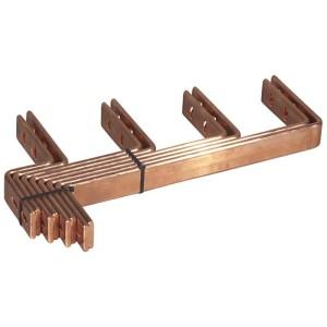 Kit de raccordement sur jeu de barres horizontal VX³IS pour jeu de barres cuivre 4000A In 2000A entraxe 125mm LEGRAND