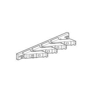 Support isolant pour armoire Altis - 1 barre cuivre 18x4mm, 25x5mm, 32x5mm, 50x5mm et 63x5mm par pôle jusqu'à 800A LEGRAND