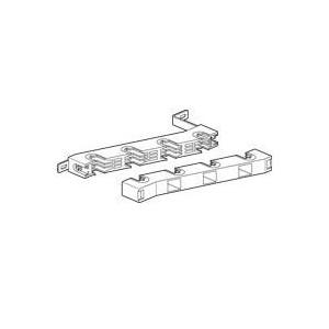 Support isolant pour armoire Altis - 1 barre cuivre 50x5mm, 63x5mm, 75x5mm, 80x5mm et barres en C par pôle jusqu'à 1000A LEGRAND