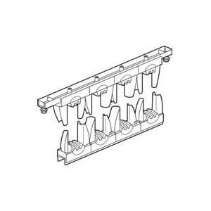 Support isolant pour armoire Altis - 1 ou 2 barres cuivre 50x5mm, 63x5mm, 75x5mm, 80x5mm, 100x5mm par pôle jusqu'à 1600A LEGRAND